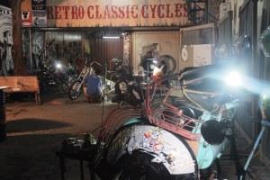Beragam proses dan pertunjukan ditampilkan secara langsung  di Art Garage