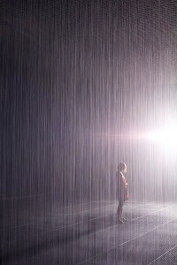 Volkswagen unterstuetzt bedeutende Kunstausstellung im YUZ Museum Shanghai Premiere fuer den von Random International kreierten Rain Room in China