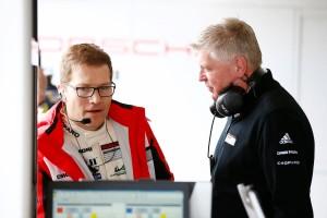 Andreas Seidl, team principal Porsche Team, Wolfgang Hatz, Board Member for Research & Development of Porsche AG (l-r)