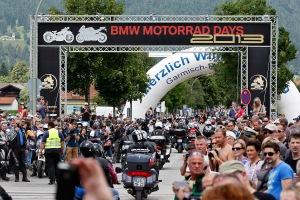 BMW Motorrad Days 2013; Garmisch-Partenkirchen, am 06.07.2013